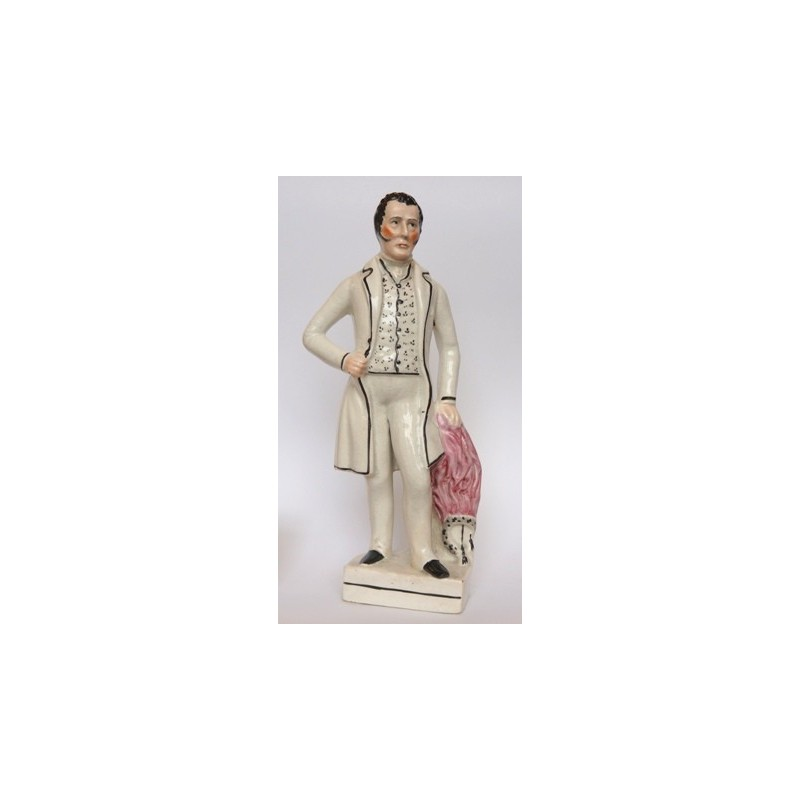 Staffordshire figure of Duke of Wellington