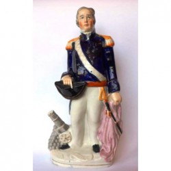 Staffordshire figure of Charles Napier