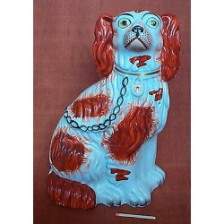 Left hand red patch spaniel