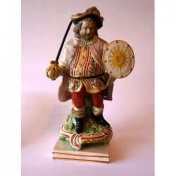 Staffordshire figure of Falstaff