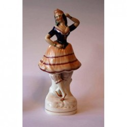 Staffordshire figure of a Ballet dancer
