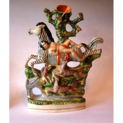 Staffordshire figure of Mazeppa