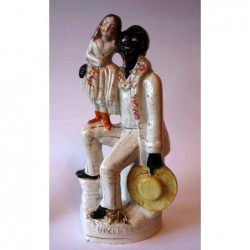 Staffordshire figure of Uncle Tom