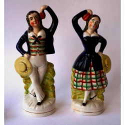 Dancing sailor and companion
