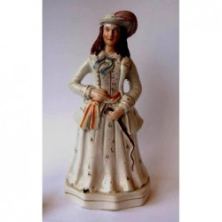 Staffordshire Pottery Miss Whiplash