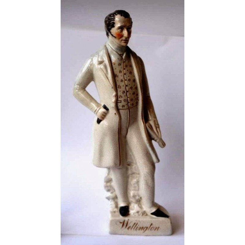 Staffordshire figure of Wellington, Large