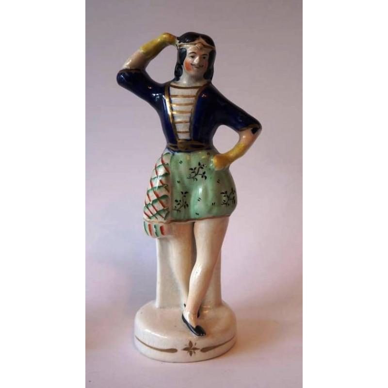 Staffordshire Pottery Dancer