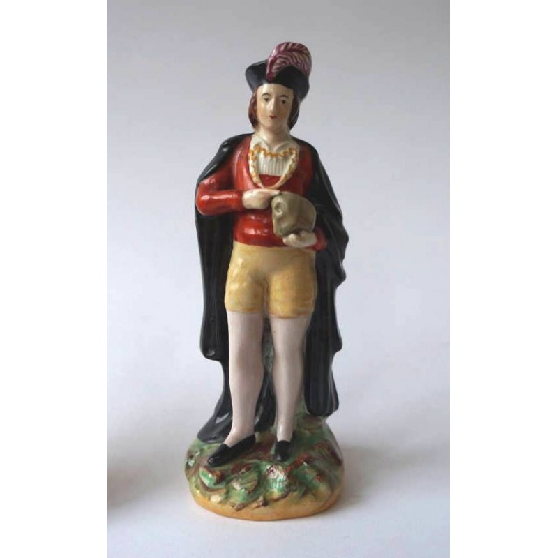 Staffordshire figure of Hamlet