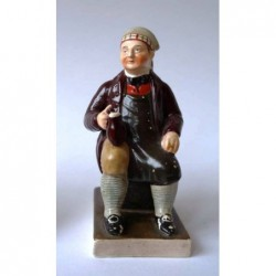 Staffordshire figure of Souter Johnny