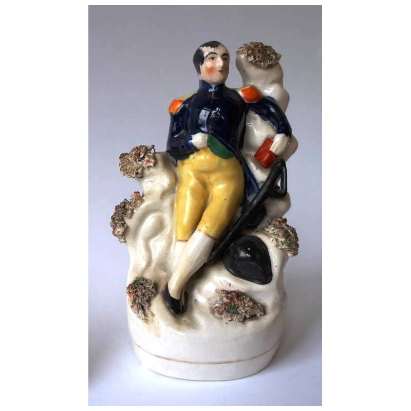 Staffordshire figure of Napoleon