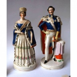 Queen Victoria and Albert