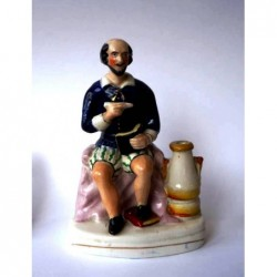 Staffordshire figure of William Shakespeare