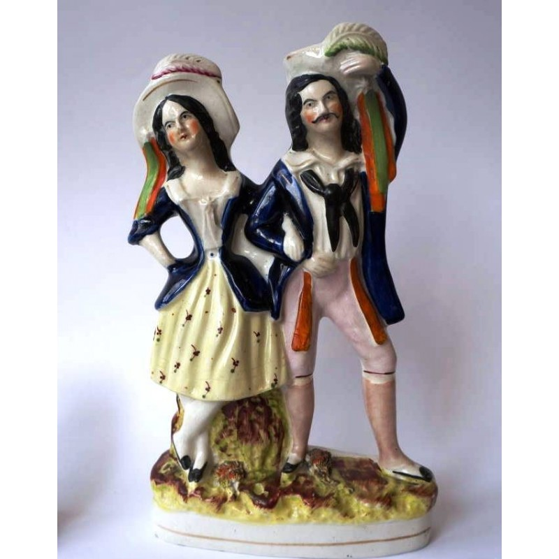 Staffordshire Pottery Performers