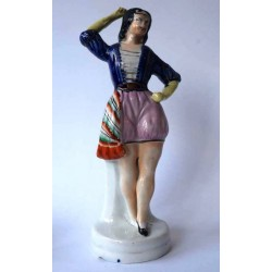 Staffordshire figure of a Dancer