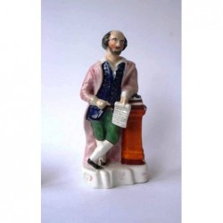 Staffordshire figure of Shakespeare