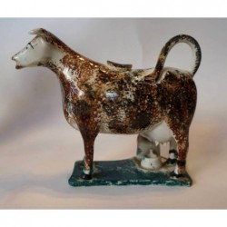 Staffordshire Pottery Cow creamer