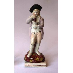 Staffordshire figure of Autumn