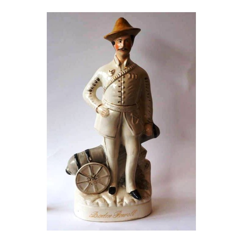 Staffordshire figure of Baden-Powell