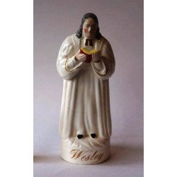 Staffordshire figure of Wesley