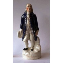Staffordshire figure of George Washington