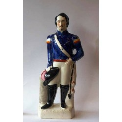 Staffordshire figure of Napoleon III