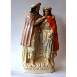 Staffordshire pottery figure of Prodigal's Return