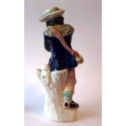 Fine figure of Staffordshire Ice Skater